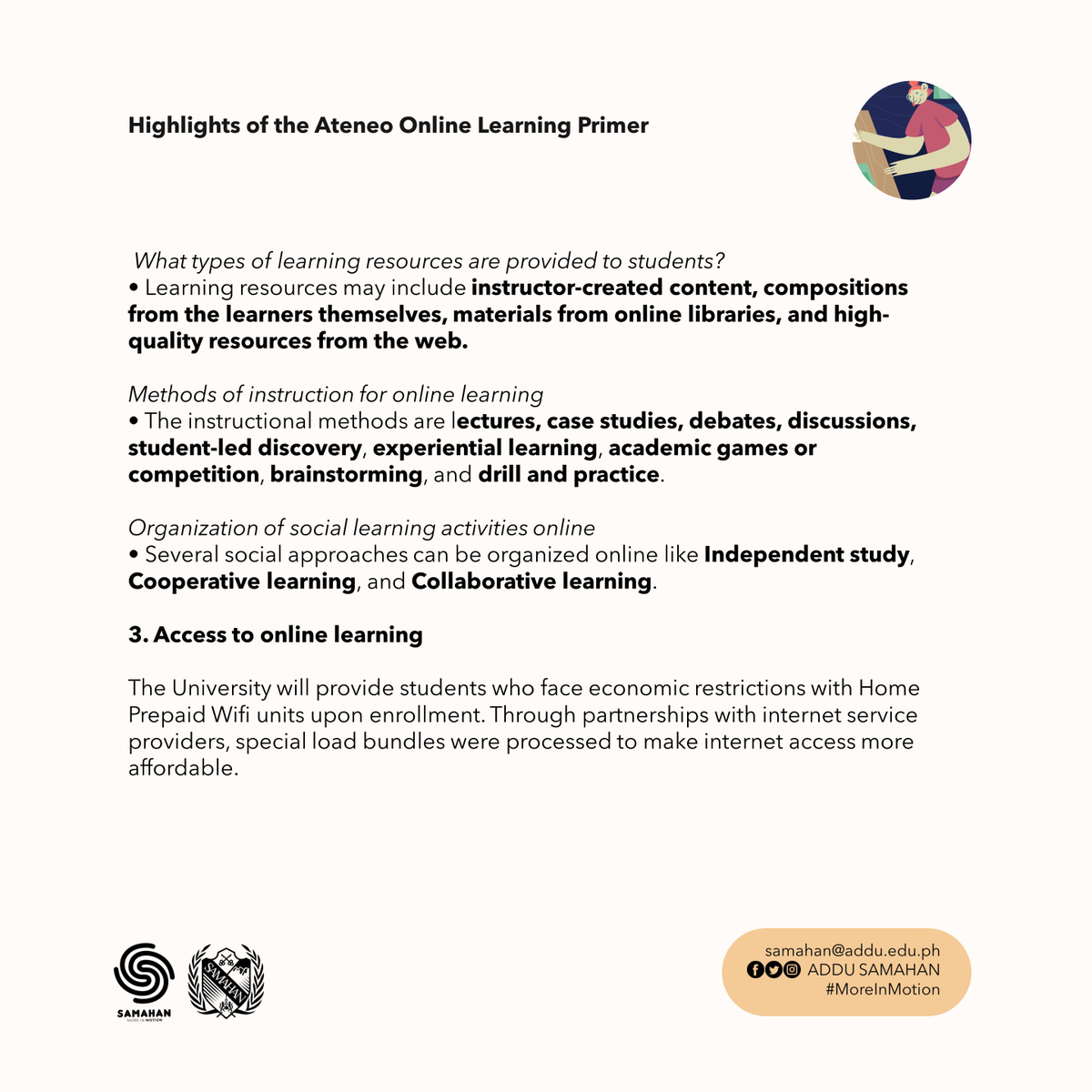 2/2 Highlights of the Ateneo Online Learning Primer 👩‍💻