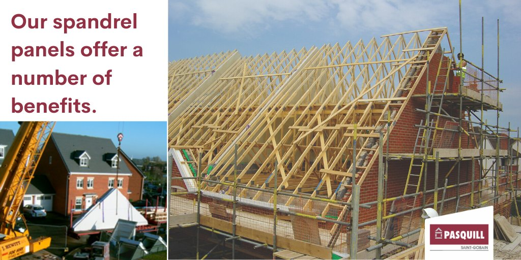Eliminate the numerous potential health and safety risks associated with traditional build and use our factory produced Spandrel panels. No matter how complex your roof layout is, this solution will reduce time on site. https://t.co/g1f0JsWPDr https://t.co/34xyEbGzN0