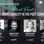 Join @Captify's CEO & Co-Founder @domjoz, at Mediatel's 'The Future of Publishing' digital event next week, where industry leaders from @PubMatic, https://t.co/x9JKjL8Wkz & @zeotap will discuss the future of audience addressability. Register 👉 https://t.co/OMB7WkQrFZ