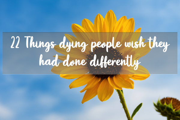 We have just published a blog post on the 22 things dying people wish they had done differently. You're reading this so it's not too late to have look at the list to see which ones resonate with you and what you can change... https://t.co/ObSGlT6Ago https://t.co/Zb0Gj57fNZ