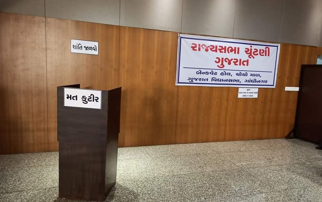 Gujarat Rajya Sabha election: Congress objection on two votes delays counting
