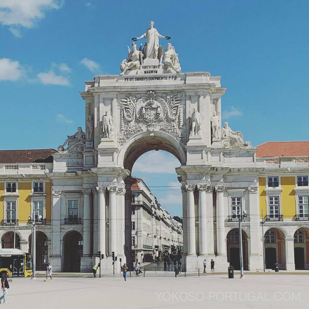 test ツイッターメディア - 普段は旅行者で賑わう、リスボンのコメルシオ広場。 #ポルトガル #リスボン https://t.co/1hoF178S34