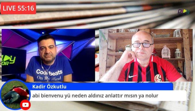 Yayına Eskişehirspor formasıyla çıktı