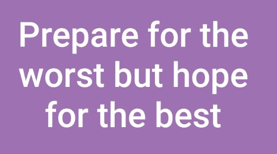 My rule for any pre-alert is Prepare for the worst but hope for the best. If the patient has deteriorated further then you are ready to cope with it. If theyve improved then everyone should be pleased 😀! #BeKind #OneTeam #NHS