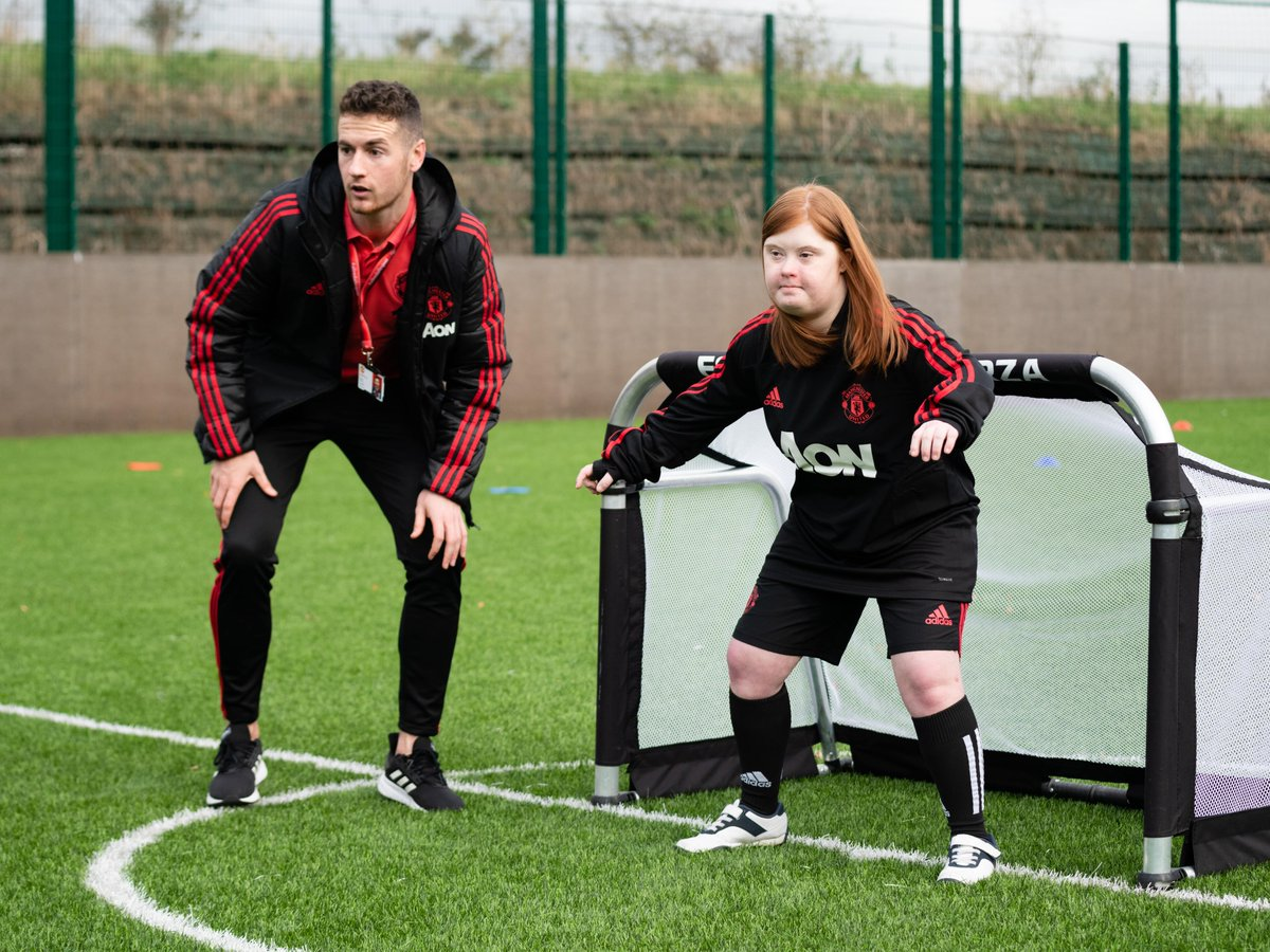 This #LearningDisabilityWeek we are celebrating the brilliant work of our partner special needs schools ❤️  These pics were taken before lockdown, but our coaches are still working with the schools where they can, to ensure pupils continue to be safe and supported 👏  #LDWeek2020 https://t.co/0cw3BM5XbN