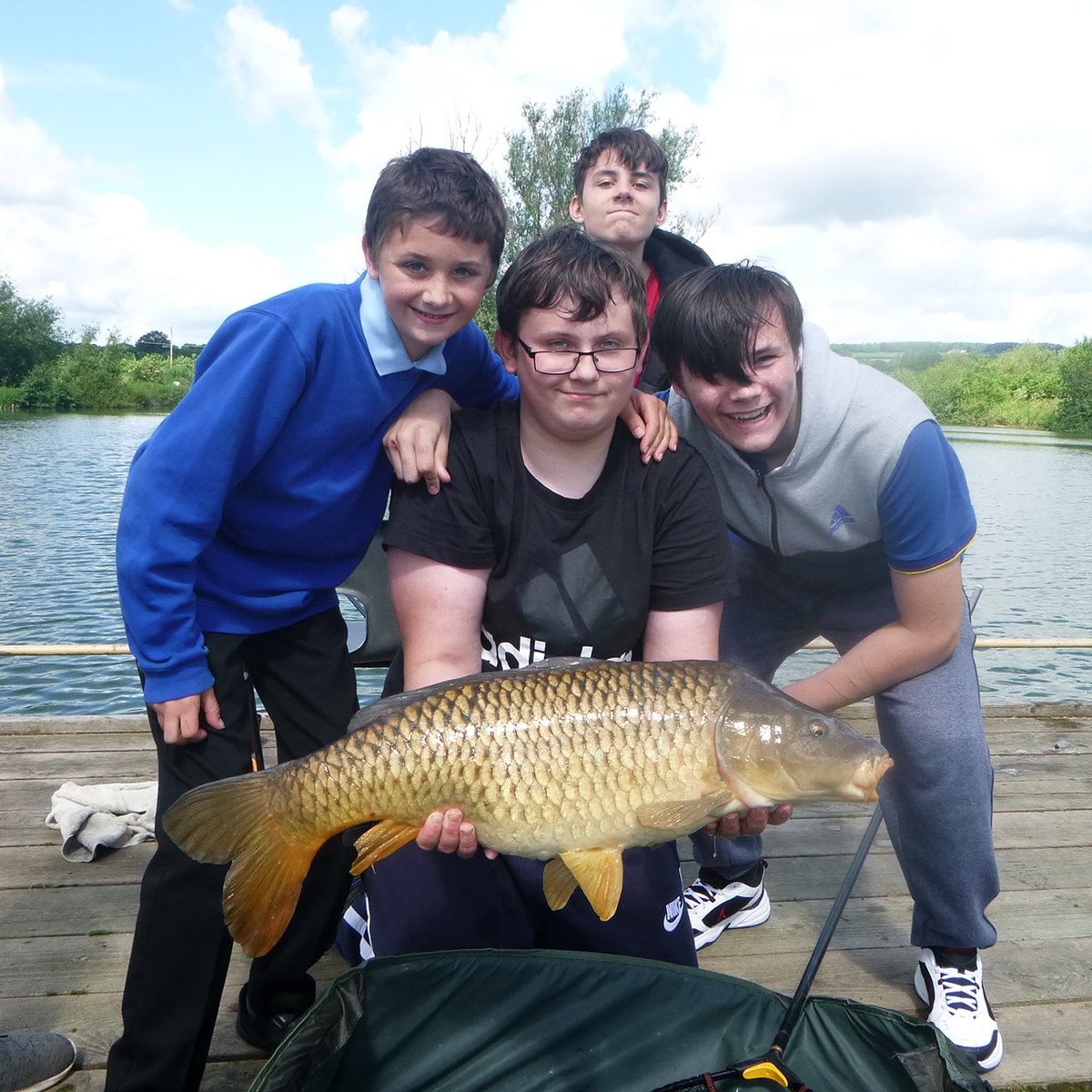 Yesterday I was working with an ex student to progress in the Cast Awards, a course run by the @AnglingTrust Although fishing is now permitted we must remember that for most schools are still shut, which isnt easy. Fishing for Schools Coach, Warren. #fishingforschools