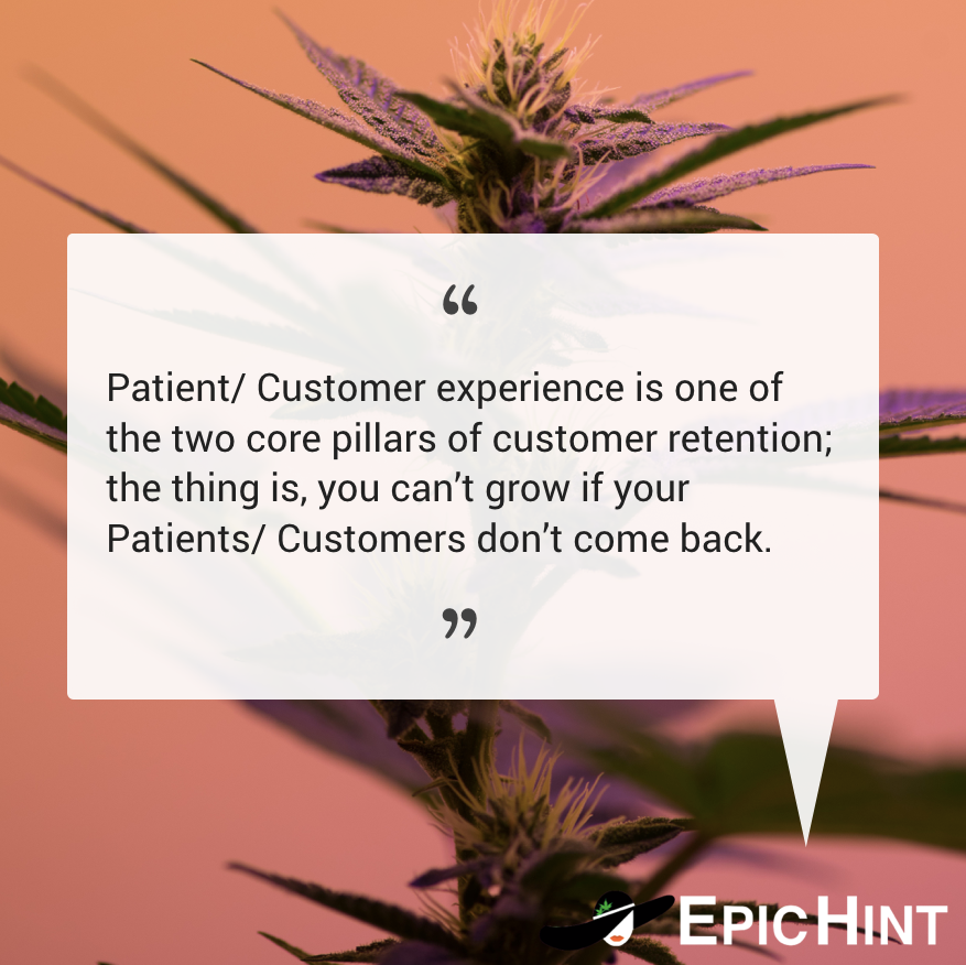 Great Patient/ Customer experiences are the key to dispensary growth. It really is that simple. #epichint  #budtender #budtenderlife #dispensary #dispensarylife #dispensarymanagerpic.twitter.com/TSo7MNReTK