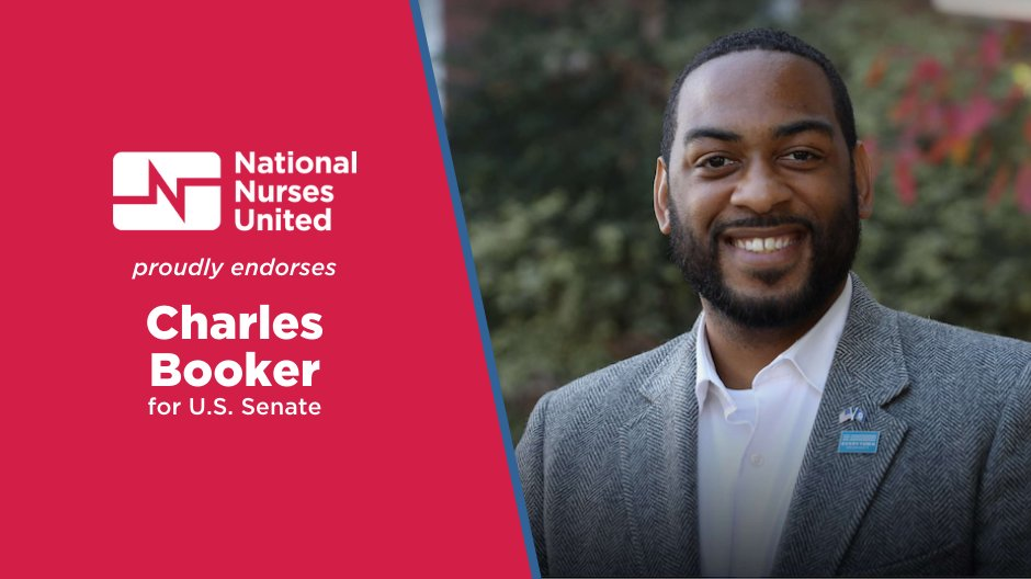 National Nurses United is proud to endorse @Booker4KY for U.S. Senate because he has demonstrated that he is an effective advocate for the health and economic well-being of Kentucky's working families!  Press Release ➡️ https://t.co/KaMAQW9NdD https://t.co/D9xa8cEoqh