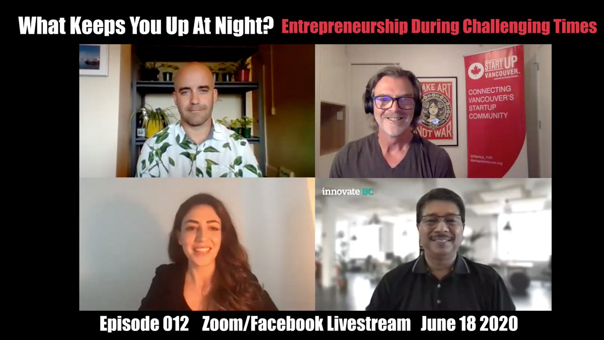 Did you miss our latest #WhatKeepsYouUpAtNight livestream show with @innovate_bc's @raghwagopal and @origenair's Andrew Crawford? No problem. You can check it out on our Youtube channel!    ➡️https://t.co/i8Eh2m3qQ1 https://t.co/SJ2am5x2bF
