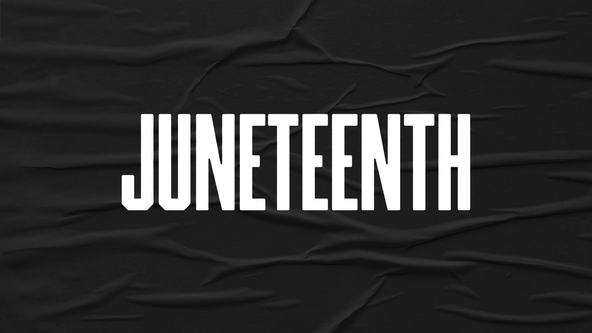 We stand with the black community and want to take time to honor #Juneteenth, a milestone that marked the end of slavery in America on June 19, 1865. We all can use the opportunity to learn more about the importance of this day and continue to fight social injustices and racism. https://t.co/EQpSSDkrUG
