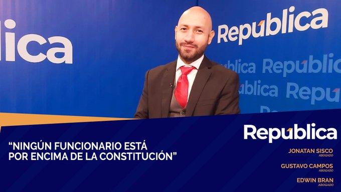 Abogado Sisco: presidente sabe que decreto 31 es inconstitucional