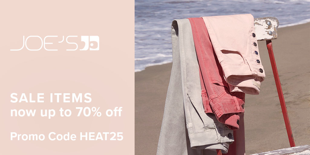 This weekend only, take up to 70% off sale items with promo code HEAT25. Start Shopping Now: https://t.co/XMB380cm9t https://t.co/17zRLqK7M4