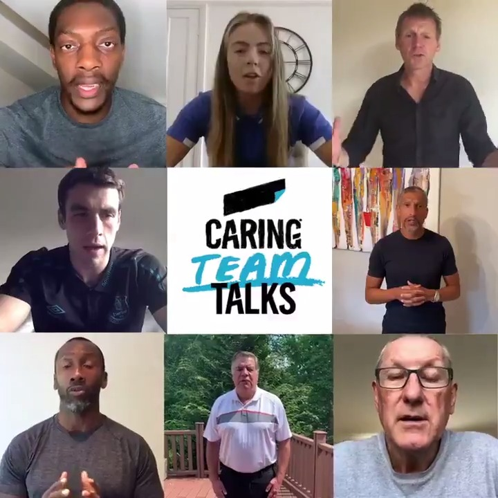 With the season getting back into full flow it's the perfect time to present the ultimate #CaringTeamTalk, featuring a dream team of managers & players. Enjoy the games, stay safe & always remember to look out for your teammates when times get tough. ⚽️ bit.ly/CaringTeamTalks