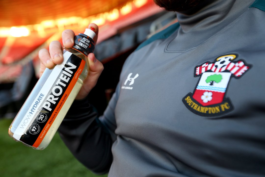 Hydrated, fuelled and ready to #PushIt💧Football is well and truly back 🙌🥅 @southamptonfc https://t.co/hlK7p6DZJX