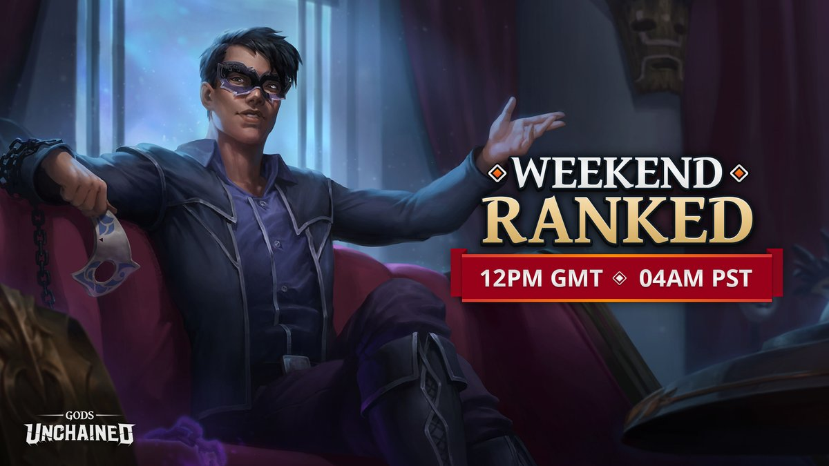 Ready to outsmart your foes in the next Weekend Ranked Challenge? 🤔 Learn more about the event here: playgu.co/wkrd-may Don't forget to check your timezones for start times (pictured)!