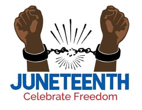 Happy Freedom Day, family. Happy Juneteenth. ✊🏽✊🏾✊🏿 🎉 🎉