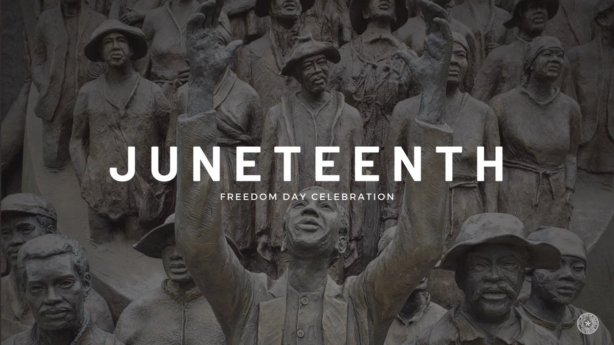 Today marks the 155th anniversary of the date that news of the Emancipation Proclamation arrived in Texas. We celebrate and recognize the freedom Juneteenth represents. Texas continues to stand for liberty for all.