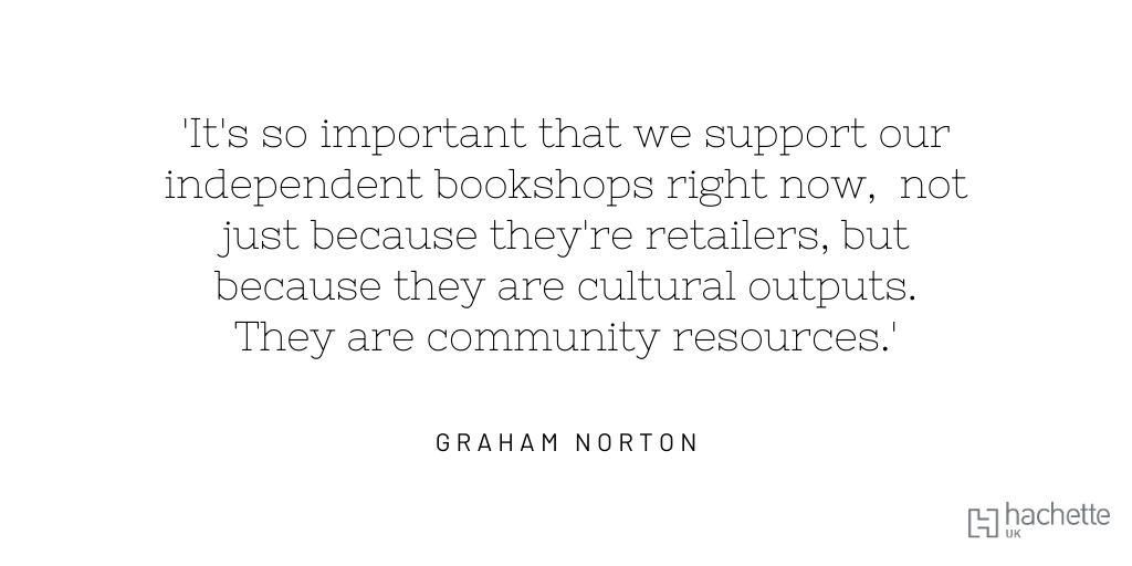 #IndieBookshopWeek @booksaremybag @HodderBooks@grahnort