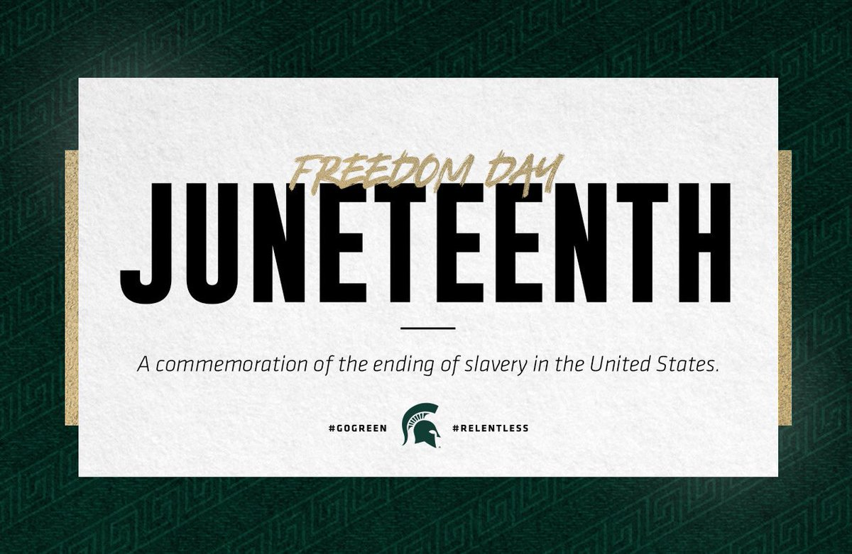 Today we honor #Juneteenth celebrating African American freedom and achievement. https://t.co/twpVeVFtj1