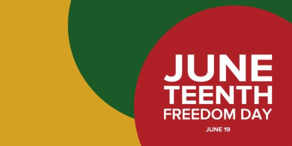 Today we observe #Juneteenth as the end of slavery in America and as a day of reflection, self-learning and celebration, commemorating the accomplishments and progress of the Black community in the past 155 years. Let's work together to combat racial injustice. https://t.co/yxmUW323e4