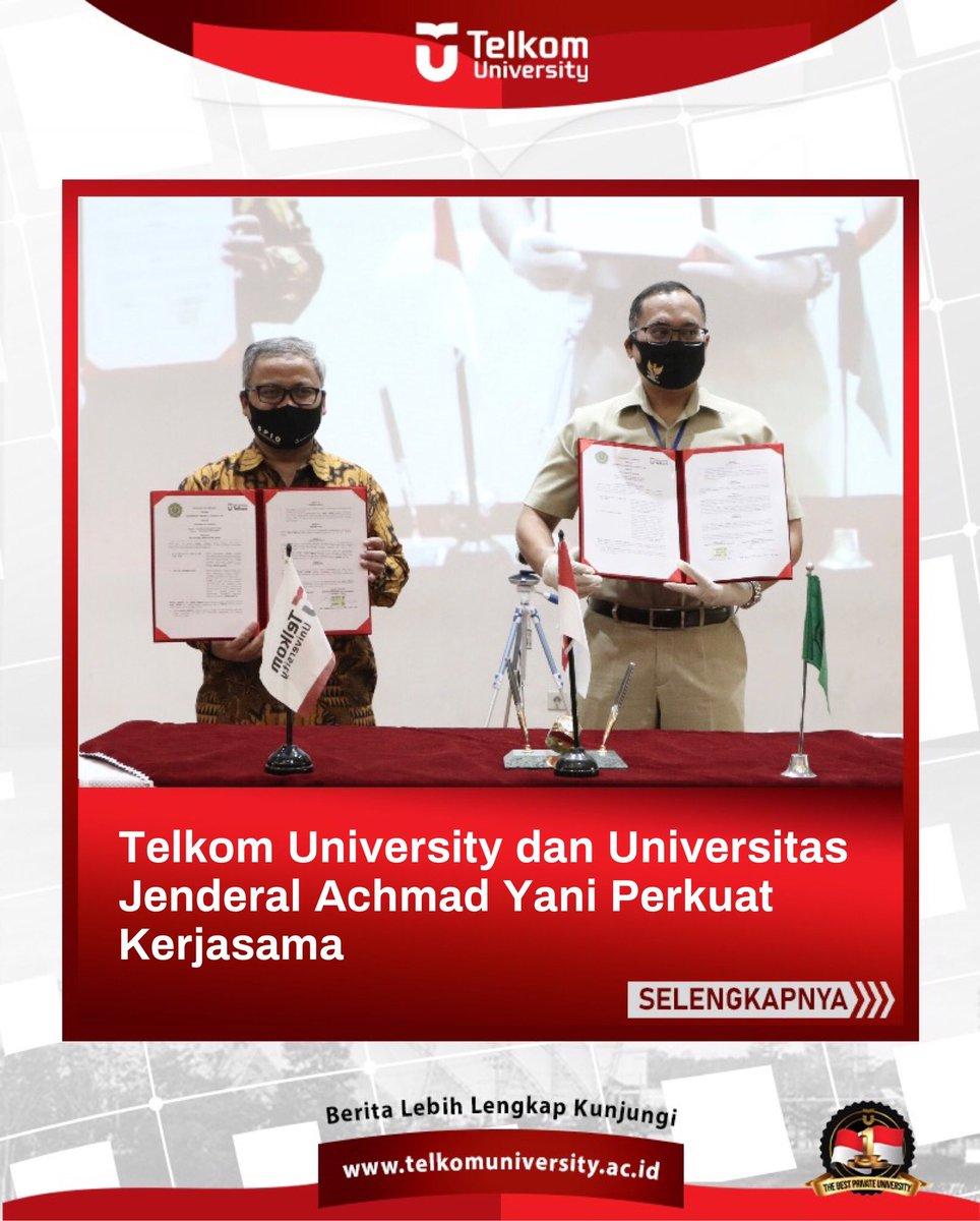 (18/06) Penandatangan MoU antara Telkom University dan @UNJANIofficial terkait Tri Dharma Perguruan Tinggi di Gedung Damar, Telkom University. #telkomuniversity #kampusswastaterbaik https://t.co/zBPqGQm5Ln