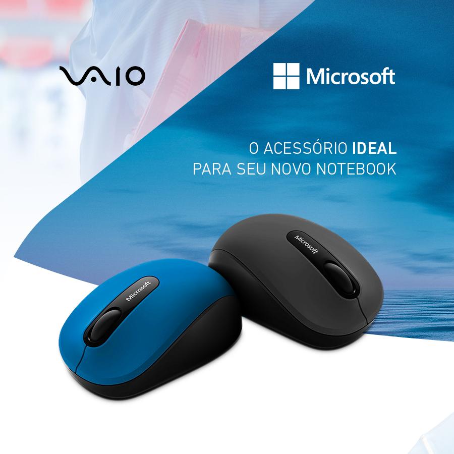 Para um notebook distinto, um mouse à altura: compacto e confortável, com rolagem em quatro direções. Conheça em https://t.co/sBHCag2puz  #VAIO #Microsoft #Periféricos #Mouse https://t.co/CGuCkyvgzK