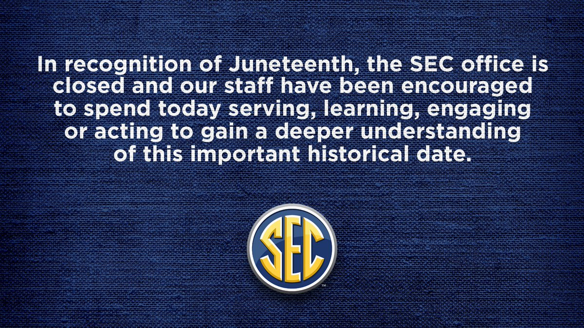 In the @SEC office, we are pressing pause today to serve, learn and grow. #ItJustMeansMore