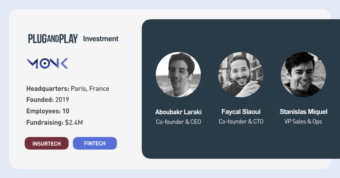 We're proud to officially welcome Monk in the Plug and Play portfolio family and are excited for what's to come.  Learn more about the #investment 👉https://t.co/1OoEh6Mgxt  #PnPInvestment #Insurtech #PnPInsurtech #AI https://t.co/6B6V4qra8W