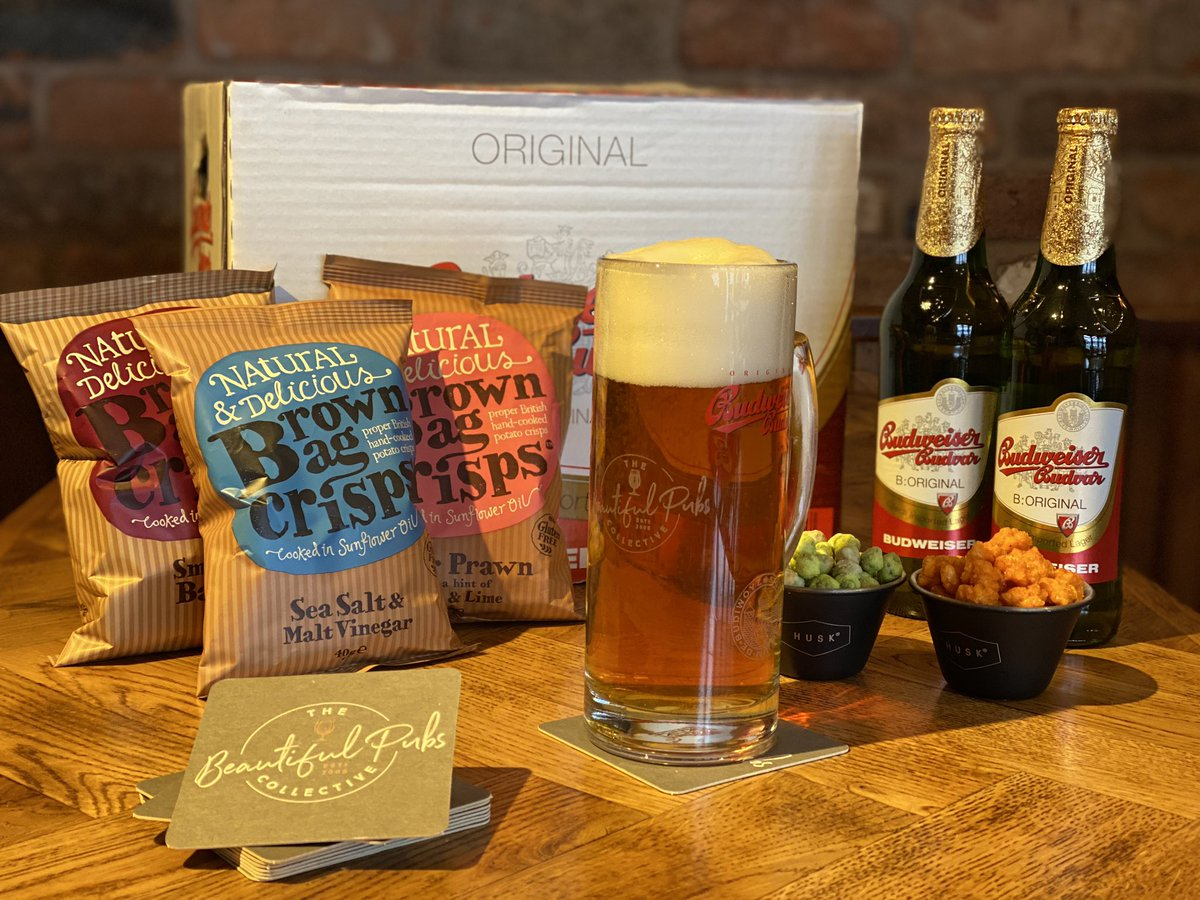 🍻🍻 COMPETITION TIME 🍻🍻  Would you normally take your Dad for a Fathers Day beer down the pub? Fancy winning a case of The Original Budweiser Budvar, two official tankards and a selection of top notch pub snacks delivered to his door?  Follow us & retweet to a chance to win 🤞🏼 https://t.co/FnpVr1mvPa