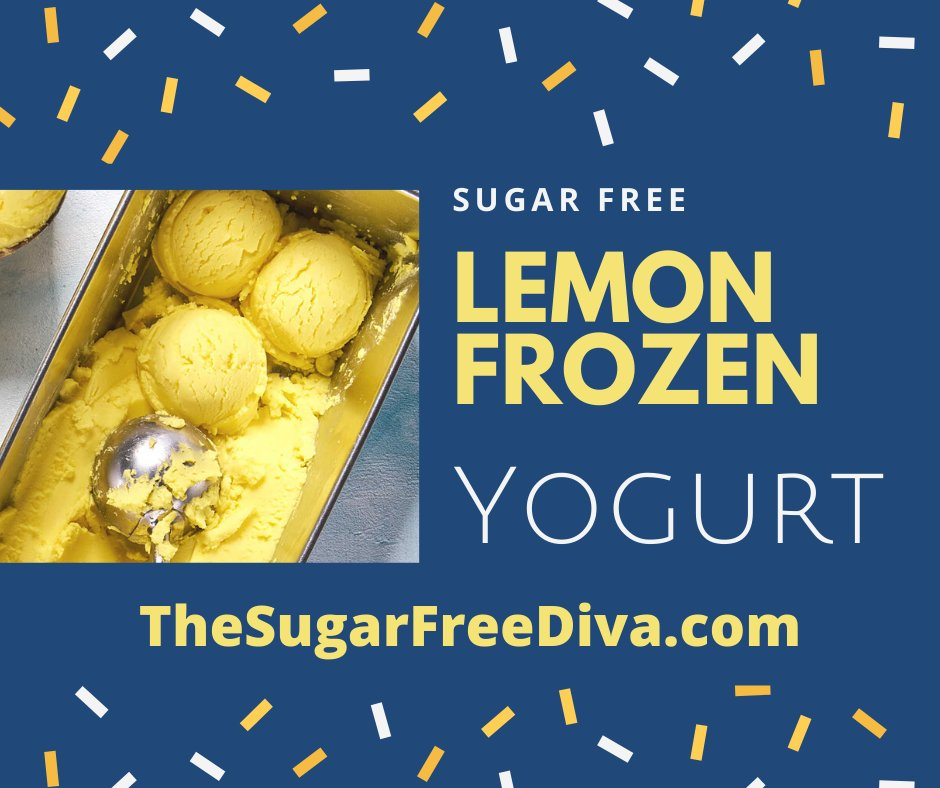 MAKE YOUR OWN SUGAR FREE LEMON FROZEN YOGURT!! Here is how >https://t.co/02ifDKdvWz #sugarfree #recipe 😋😎🎈 https://t.co/U8SQ3pL8dF