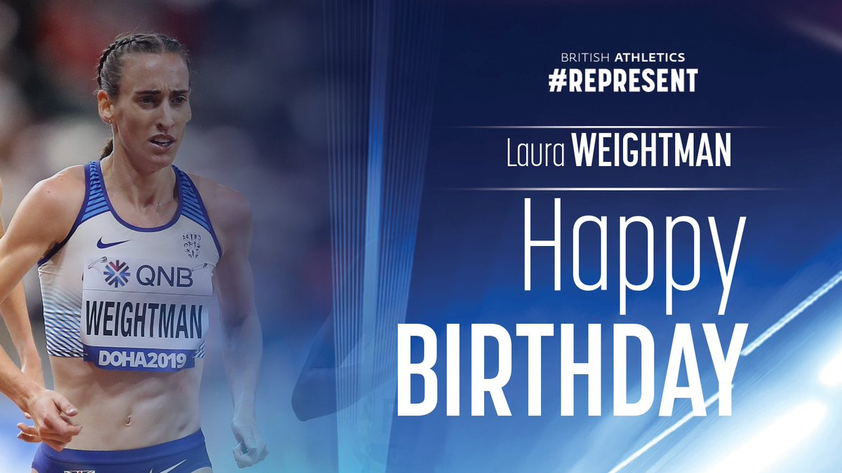 🎉 Happy Birthday to @LauraWeightman, the @GC2018 5000m & @EuroAthletics 1500m 🥉 medallist!