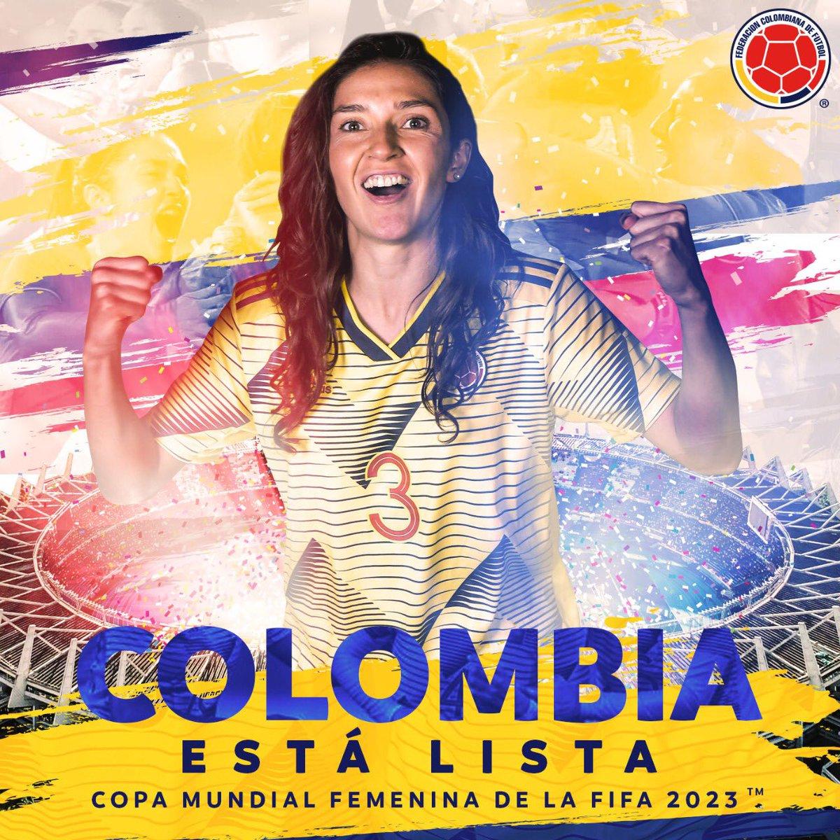 ⚽️ La primera Copa Mundial Femenina 🏆 que hará vibrar al mundo desde Sudamerica #ColombiaEstáLista 🇨🇴 @FCFSeleccionCol https://t.co/saHUo5OIPm