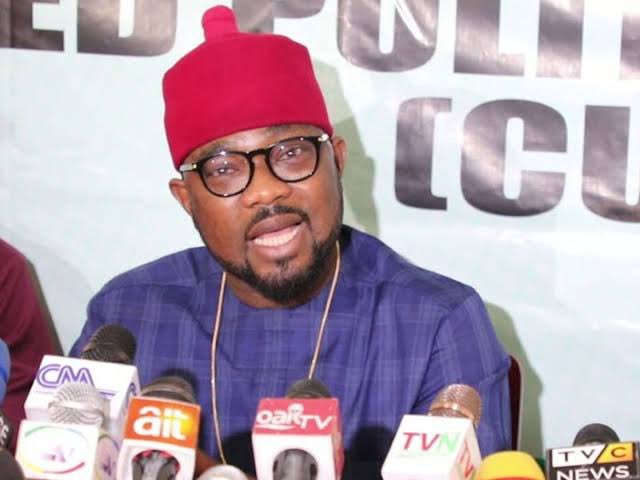 PDP Condemns Arrest of CUPP Spokesman, Demands His Immediate Release  The @OfficialPDPNig demands the immediate and unconditional release of the Spokesperson of the Coalition of United Political Parties  (CUPP), Ikenga Imo Ugochinyere, by the @PoliceNG,... https://t.co/mDzCI7qstC