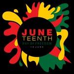 Image for the Tweet beginning: Happy Juneteenth! As we celebrate