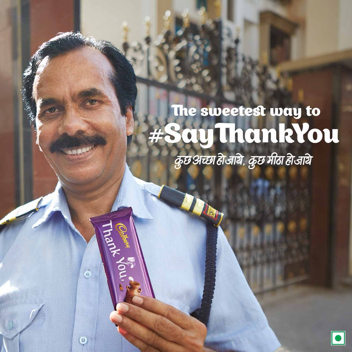 A little kindness goes a long way in helping those who make our lives easier. Every Cadbury Thank You bar helps provide health insurance to those who need it most. #SayThankYou #KuchAchhaHoJaayeKuchMeethaHoJaaye https://t.co/koXavW0Yp2