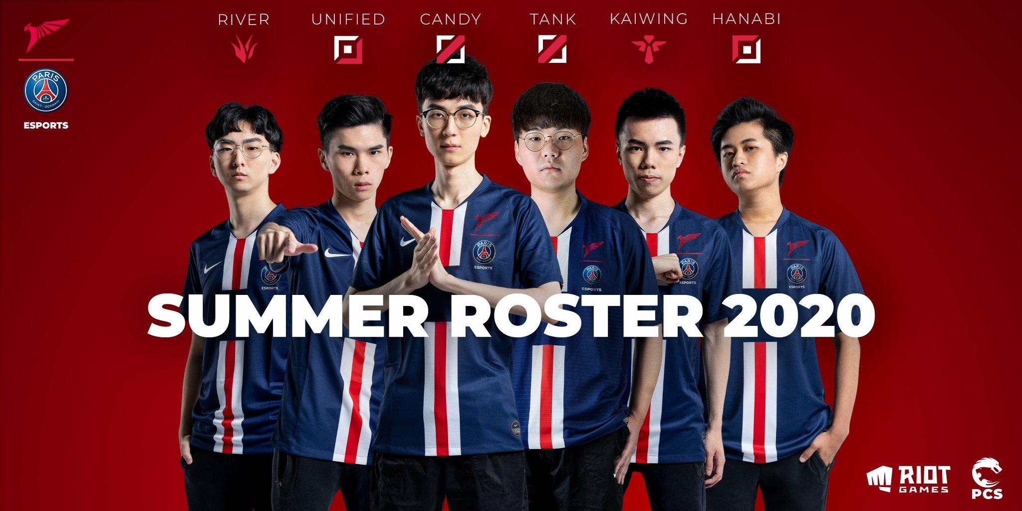 Psg Talon On Twitter Introducing Psg Talon Lol Roster For The 2020 Summer Split For Pcs Those Uniforms Looking Pcslol Bleedcrimson Psg Https T Co Bjgpgnuibo