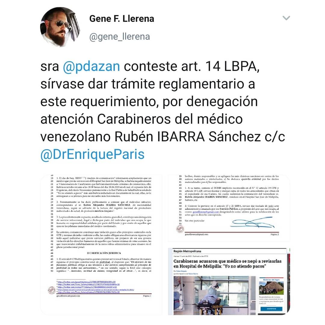 """APRA ARAUCANíA on Twitter: """"🔴Se exige a subsecretaria de salud ..."""