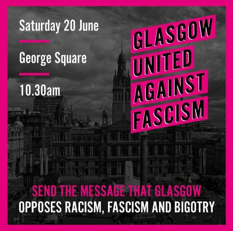 We've always stood against fascism and tomorrow we will support this demo.   We understand the current Covid circumstances present difficulties and moral dilemmas however would encourage all of our members willing and able to join us. https://t.co/CmfVLDO8YT