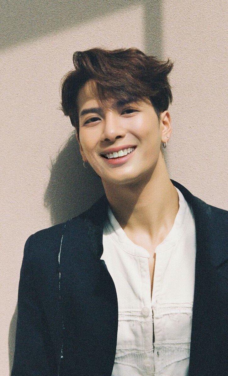 Roni ś› On Twitter Jackson Wang Smiling
