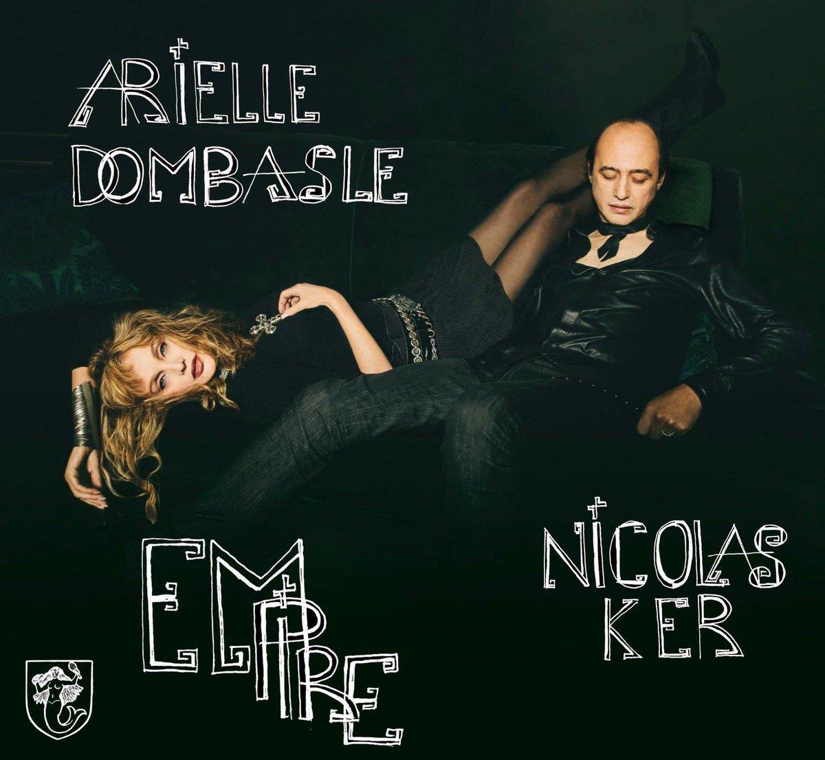 """Le duo foudroyant @ArielleDombasle & Nicolas Ker nous ouvre les portes d'un univers captivant avec leur album """"EMPIRE"""" disponible dès maintenant ! ➤ https://t.co/1bweiz4B4c   #Empire #ArielleDombasleXNicolasKer https://t.co/Li9PUweoJH"""