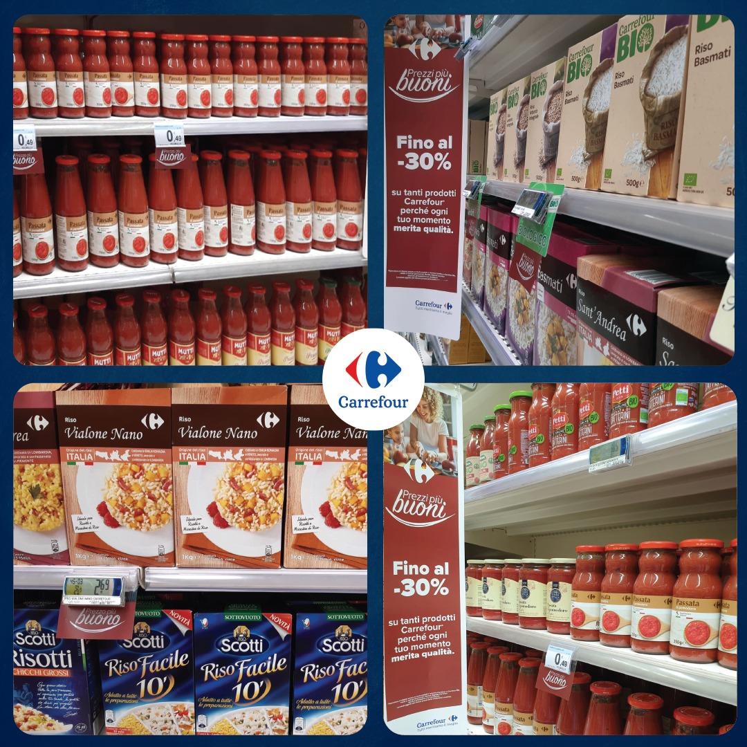 """#Qualità, #filiera controllata e #convenienza sono i valori che muovono la nostra campagna """"Prezzi più buoni"""", che ha lo scopo di valorizzare i nostri prodotti di #MarcaPrivata Carrefour. #TuttiMeritiamoIlMeglio https://t.co/JTCqUrbewt"""
