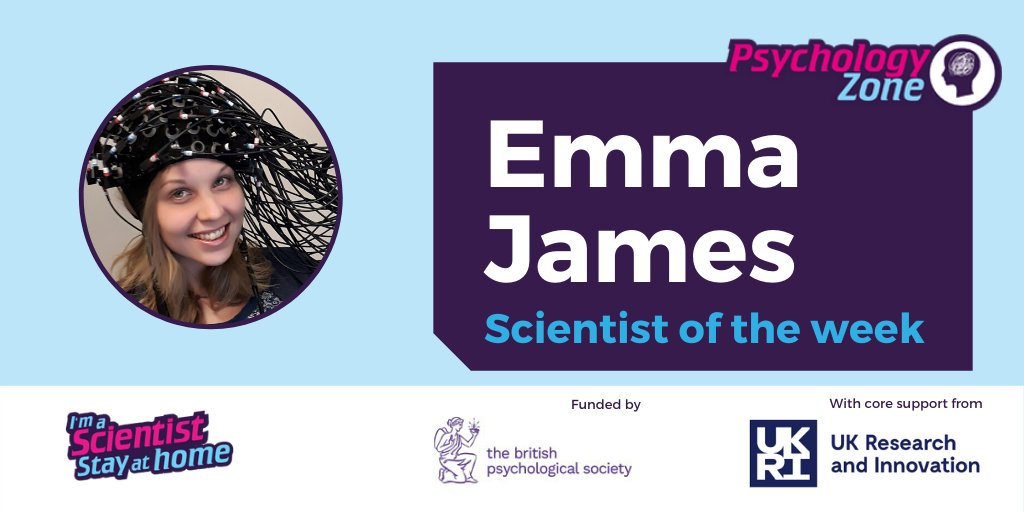 @Johnson_Matthey @nathanwmarch @WGCengage @sangerinstitute @RoySocChem @syusyuhaida @CranfieldEnviro @The_MRC @aberdeenuni @Childers_Lab @ogdentrust And finally for #IASStayAtHome our Psychologist of the Week in the @BPSOfficial Psychology Zone is Emma @emljames from @UniOfYork  https://t.co/Y8ha9VKwaO https://t.co/wc04LKMD7j