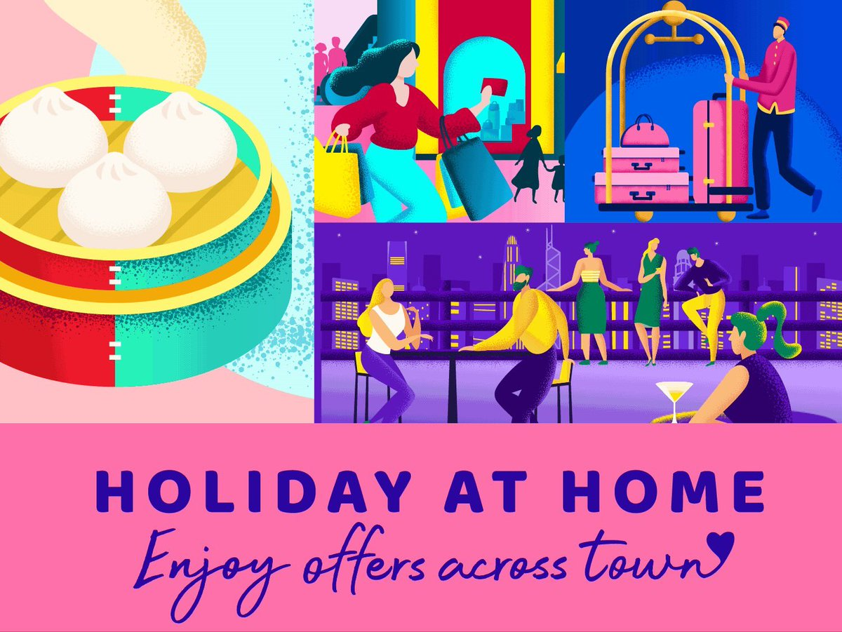 'Hello, Hong Kong' is a dedicated one-stop platform to explore and enjoy this fantastic city where Hong Kong residents can experience a staycation where room rates start from HKD 1,963 per night with breakfast for 2 people: https://t.co/nYhgo2v6Si https://t.co/C9awKSMB5p