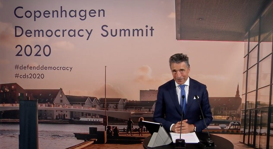 """Dear Democracy Friends, #CDS2020 speakers, participants & sponsors - Thank you for engaging with us at the 2020 Copenhagen Democracy Summit. As @AndersFoghR stated: """"Without your support, we would not have been here today"""". #DefendDemocracy https://t.co/lCCdnBhUeM"""