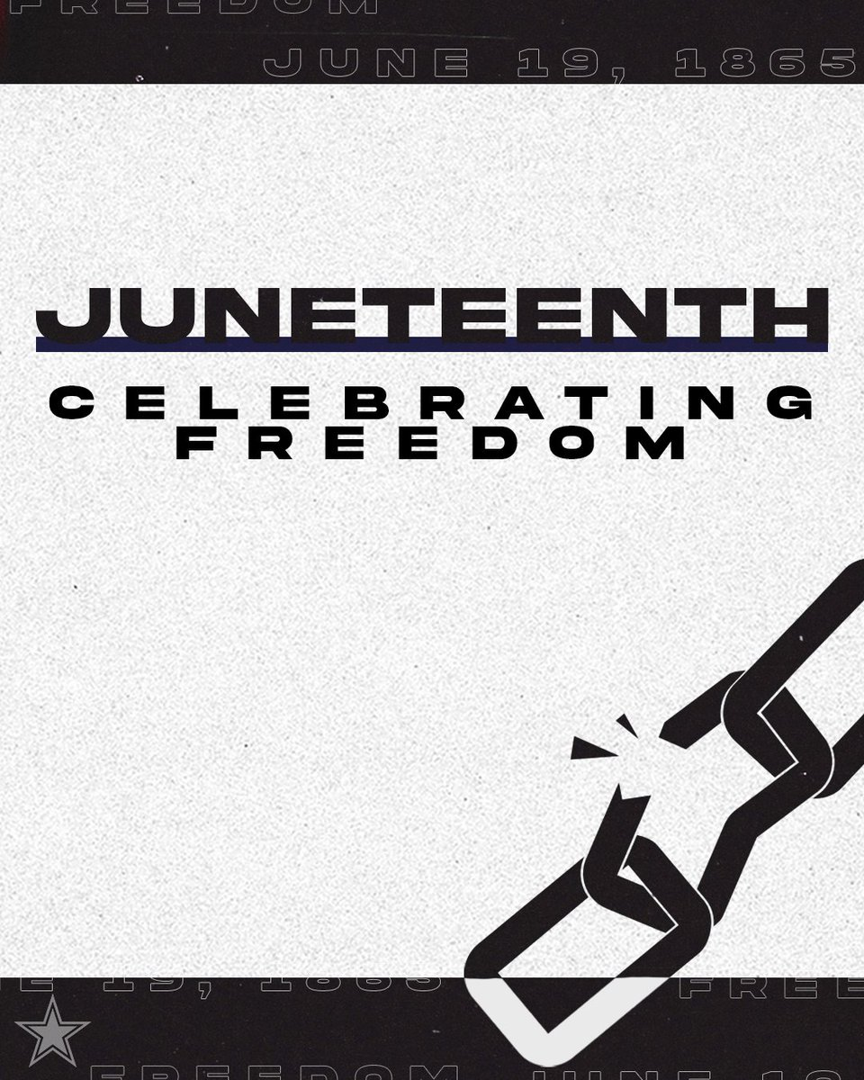 Today we recognize #Juneteenth  A day to reflect, educate and commemorate. https://t.co/ms7KA6Ioze