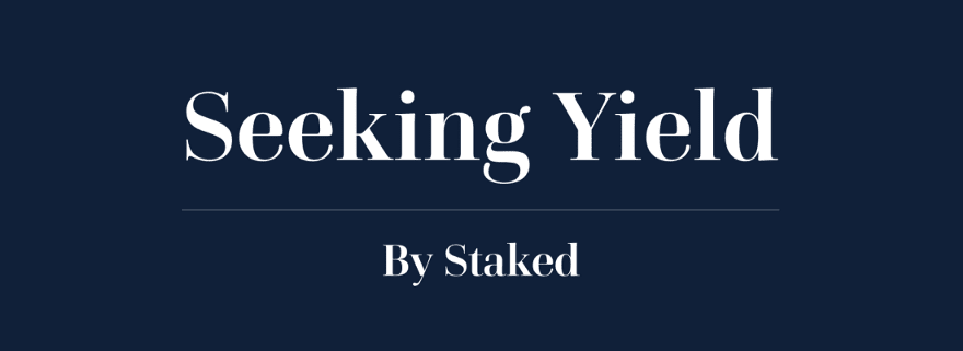 We just published the sixty-ninth issue of Seeking Yield by Staked.  ⛓️ Tracking $ETH 2.0 🎉 @polkadotnetwork Staking Launch 🖥️ $DOT Staking Webinar ✅ @OasisProtocol Chain Candidate Launch 📊 Current Staking Yields 🤖 @RoboForYield Snapshot  Read it now: https://t.co/egBRFVo8RO https://t.co/JBcygZ8Sg3