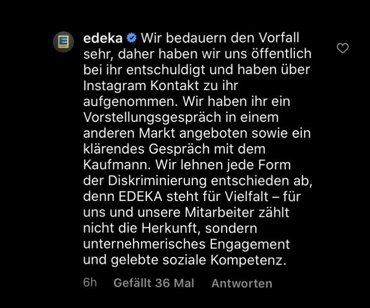 #Edeka