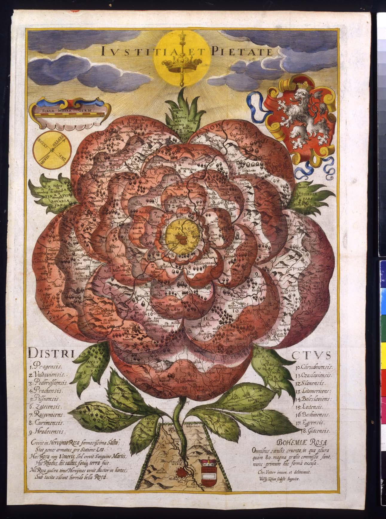 «Bohemie Rosa» (1668)