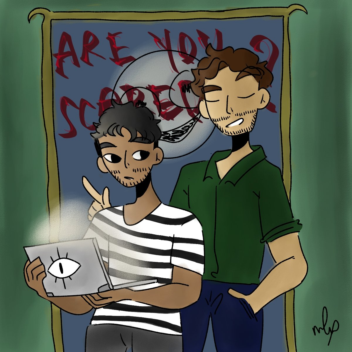 """Happy """"Are You Scared?"""" launch day!! Thank you @wearewatcher for such an amazing pilot episode and I can't wait for more!! Love ya @ryansbergara @shanemadej 😔✊ https://t.co/sCzYR4y7K6"""