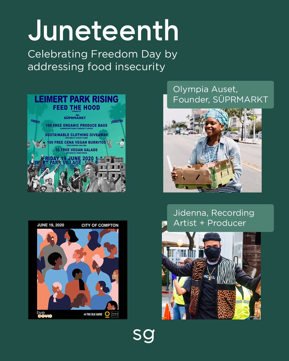Juneteenth commemorates the emancipation of the last enslaved African Americans in the US. Today, many Black Americans celebrate community, culture, food, family, and freedom. Food has always been a powerful vehicle for change. We're humbled to play a small part.